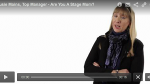 Are You a Stage Mom