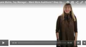 Want More Auditions? Step Up the Action